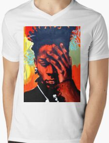 Basquiat  Mens V-Neck T-Shirt