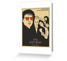 The Lost Boys Beige Greeting Card