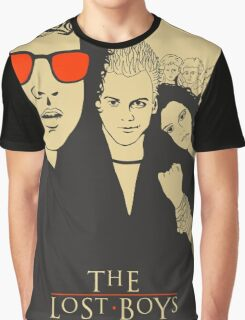 The Lost Boys Beige Graphic T-Shirt