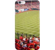 Busch Stadium Baseball Field iPhone Case/Skin