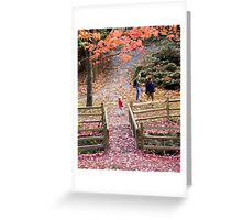 Renfrew Ravine - The Friendly Ravine Greeting Card