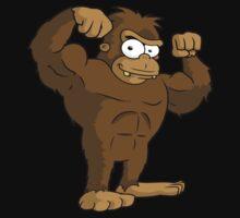 Buff Bigfoot No Text Kids Clothes