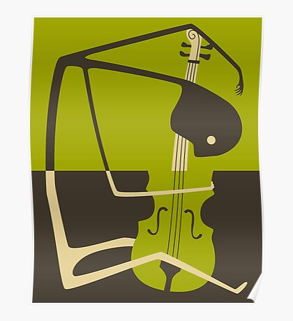 THE BLUES CELLO Poster