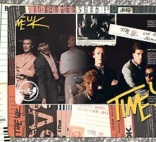 Time U.K. Live CD Cover 4 by John O'Connor