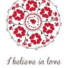 I believe in love mandala by ugokisai
