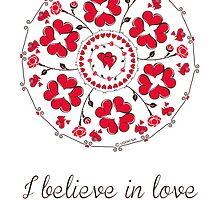 I believe in love mandala by ugokisai