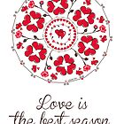 love is the best season mandala by ugokisai