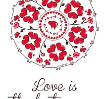 love is the best season mandala by ugokisai