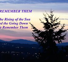 We Remember Them... by Carol Clifford