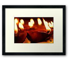Deepwwali ( Festival of Lights) Framed Print
