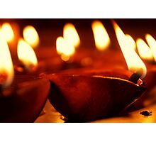 Deepwwali ( Festival of Lights) Photographic Print
