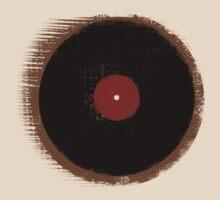 Grunge Vinyl Record Vintage T-Shirt by Denis Marsili - DDTK