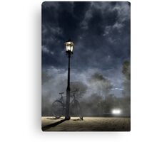Ominous Avenue Canvas Print