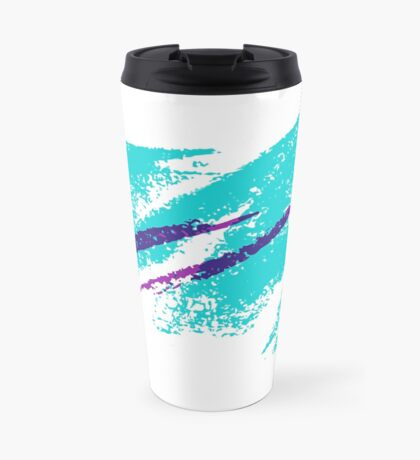 DIXIE SOLO CUP [TRANSPARENT] JAZZ 90s PATTERN (INSPIRED BY DIXIE CUPS) Travel Mug