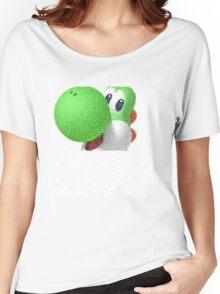 Yoshi Super mario bros Women's Relaxed Fit T-Shirt