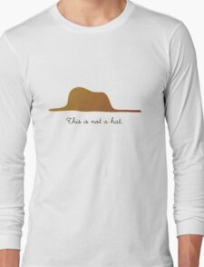 This is not a Hat Long Sleeve T-Shirt