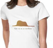 Esto no es un sombrero Womens Fitted T-Shirt