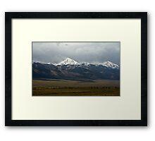 Drive By Ridge Line Framed Print