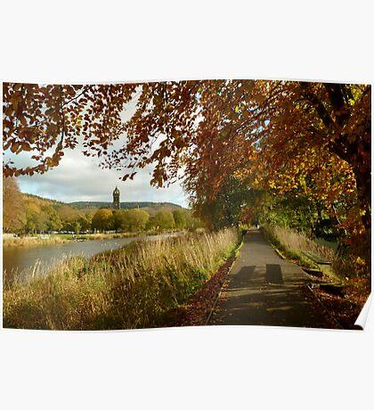 autumn tweed Poster