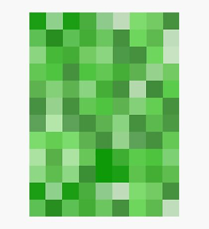 Creeper Pattern Photographic Print