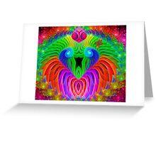 Rainbow Serenade Greeting Card