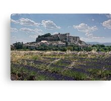 chateau lavande Canvas Print