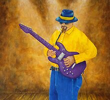 Blues Guitar Man by Allegretto