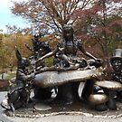 Alice In Wonderland Statue, Central Park, New York City by lenspiro