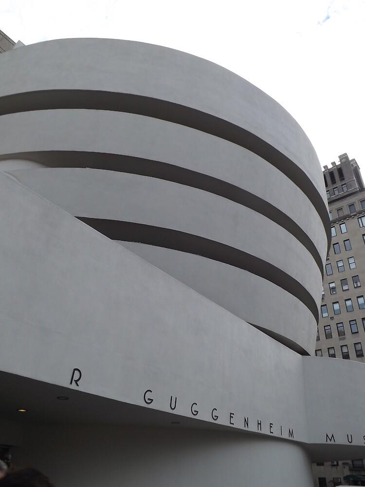 Guggenheim Museum, Frank Lloyd Wright Architect, New York City by lenspiro