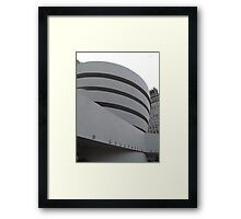 Guggenheim Museum, Frank Lloyd Wright Architect, New York City Framed Print