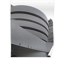 Guggenheim Museum, Frank Lloyd Wright Architect, New York City Poster