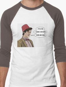 Cool Fez Men's Baseball ¾ T-Shirt