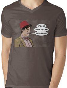 Cool Fez Mens V-Neck T-Shirt