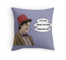 Cool Fez Throw Pillow