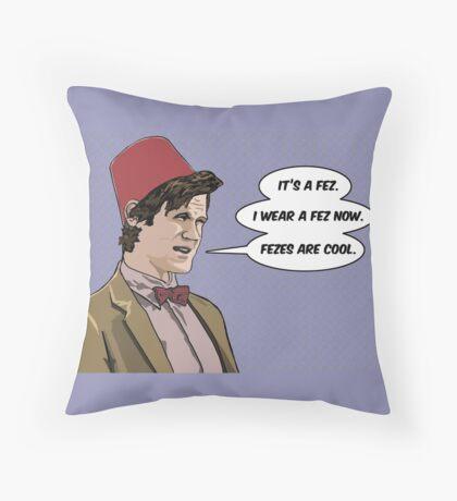 Cool Fez Throw Pillow