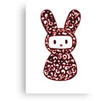 Ninja Rabbit Canvas Print