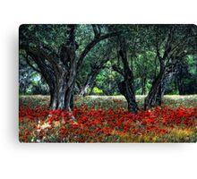 Provence-Impression Canvas Print