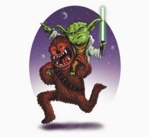 Yoda and chewie by Crestacle Store