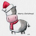 Moo! Christmas time!  by Will Charlesworth
