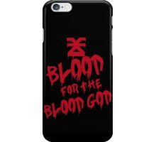 Khorne Graffiti Plain iPhone Case/Skin