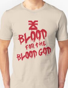 Khorne Graffiti Plain Unisex T-Shirt