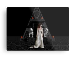 Dark Dreams 4-Hell's Zombie Bride Metal Print