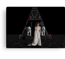 Dark Dreams 4-Hell's Zombie Bride Canvas Print