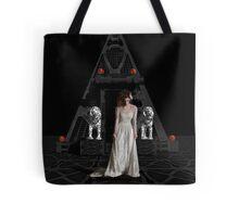 Dark Dreams 4-Hell's Zombie Bride Tote Bag