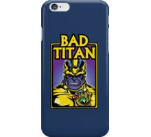 Bad Titan iPhone Case/Skin