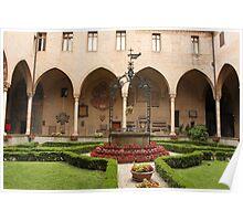 General's Courtyard, Basilica del Santo Poster