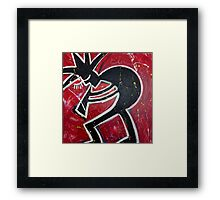 Blood, Sweat & Jazz Framed Print