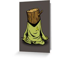 Captain's Log Greeting Card