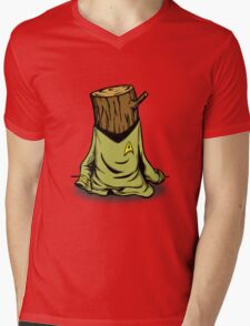 Captain's Log Mens V-Neck T-Shirt