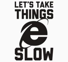 Let's Take Things Slow by Look Human